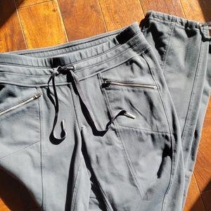 Athleta Athletic Pants Gray sz XS